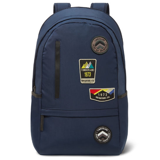 Ferndale Backpack with Patches in Blue | Timberland