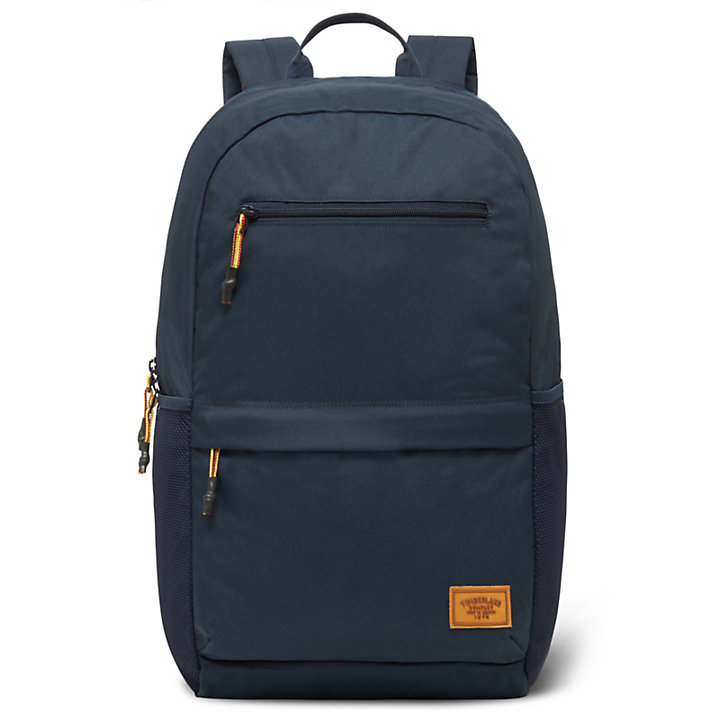Crofton Zip Top Backpack in Navy-