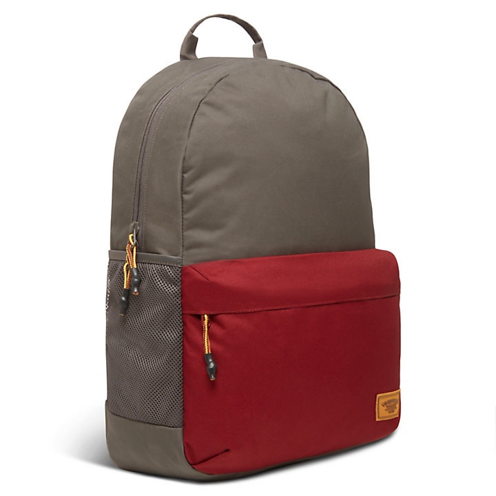 Crofton Classic Colour-Block Backpack in Grey-