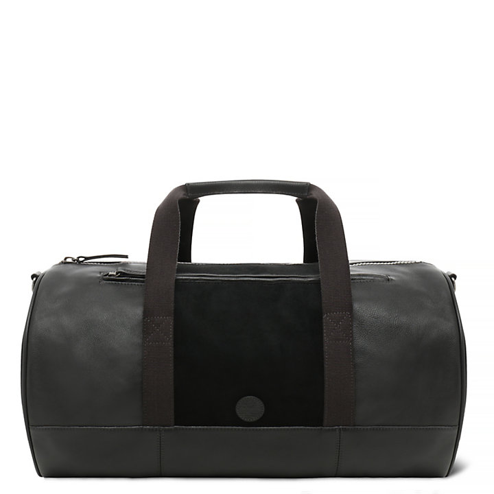 498d78727e Tuckerman Leather and Suede Duffel Bag in Black | Timberland