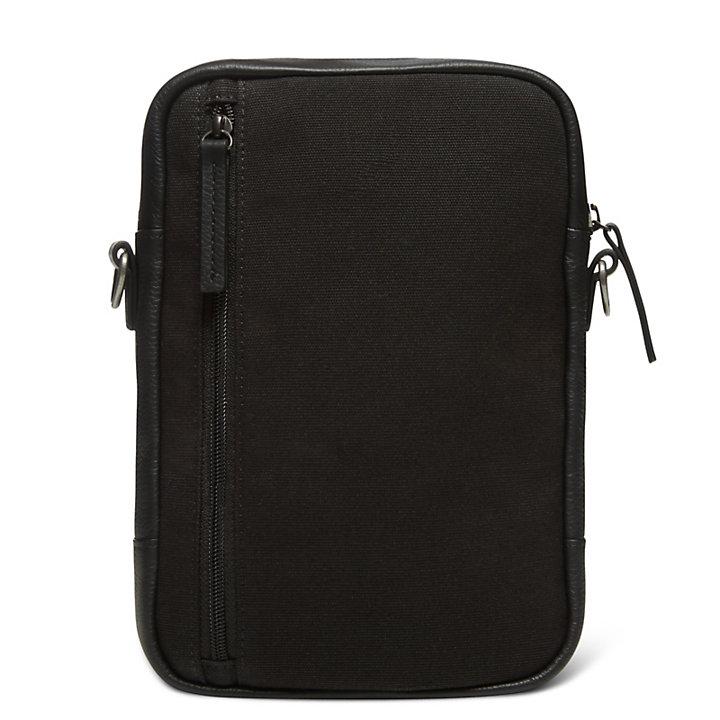 Tuckerman - Small Items Bag aus Leder in Schwarz-