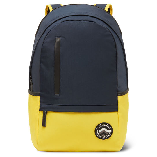 Ferndale Colourblock Backpack in Navy/Yellow | Timberland