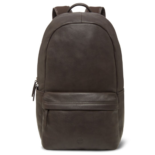 Leather Backpack in Dark Brown | Timberland