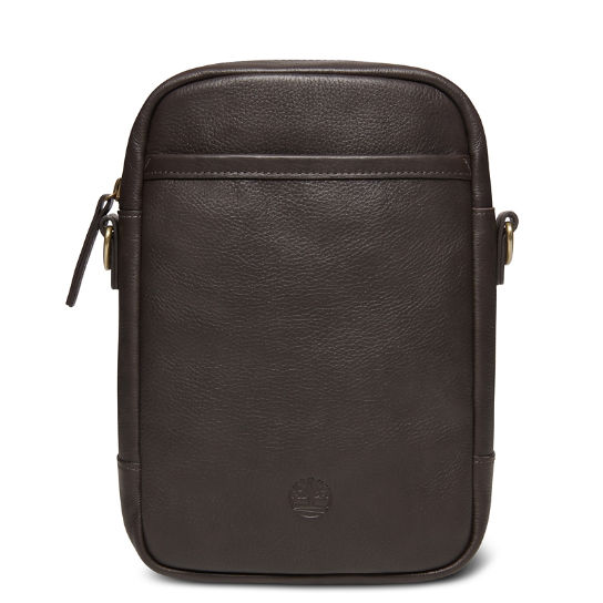 Tuckerman Leather Small Items Bag in Dark Brown | Timberland