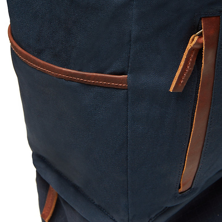 Cohasset Roll Top Backpack in Navy-
