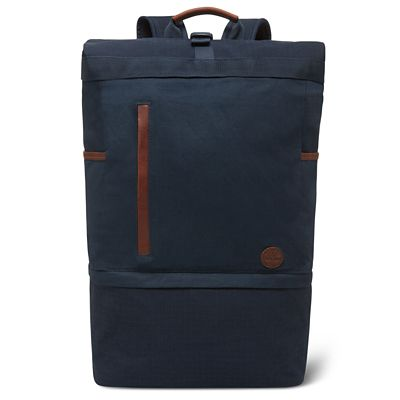 Cohasset+Roll+Top+Backpack+in+Navy