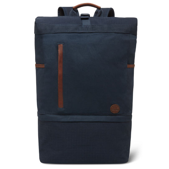 Cohasset Roll Top Backpack in Navy | Timberland