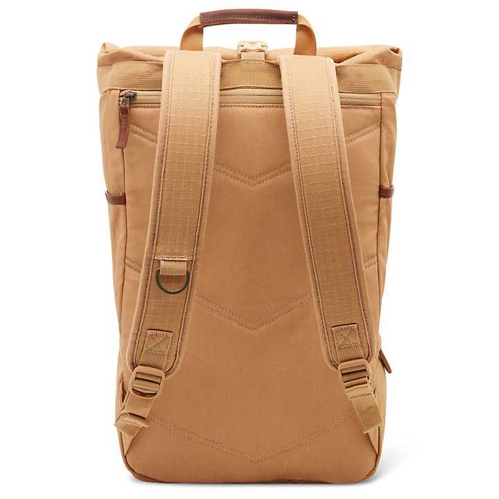 Cohasset Roll Top Backpack in Beige-