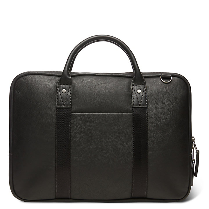 Tuckerman Briefcase in Black-