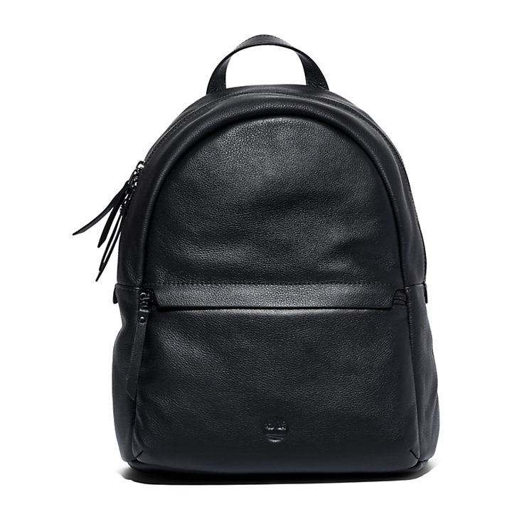 Ashbrook Leather Backpack for Women in Black-