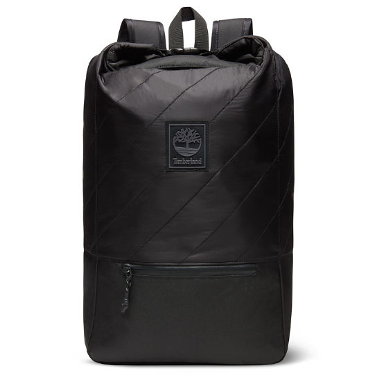 Roll Top Backpack in Black | Timberland