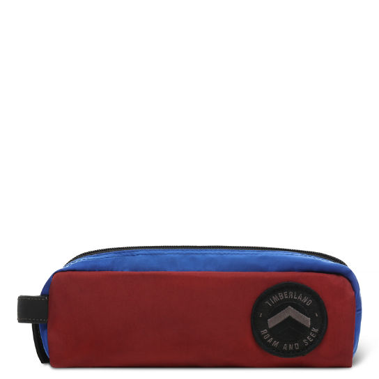 Ferndale Pencil Case in Red | Timberland