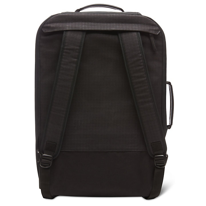 Wheeled Backpack in Black-