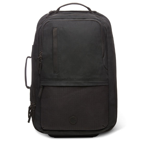 Wheeled Backpack in Black | Timberland