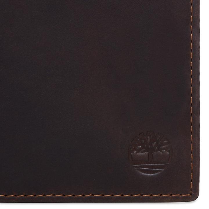 Grafton Notch Wallet for Men in Dark Brown-
