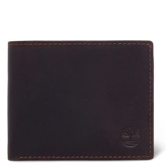 Grafton Notch Wallet for Men in Dark Brown | Timberland