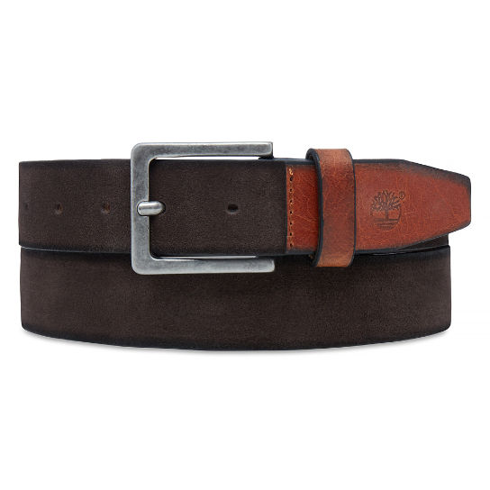 Men's Washed Suede Belt Cocoa | Timberland