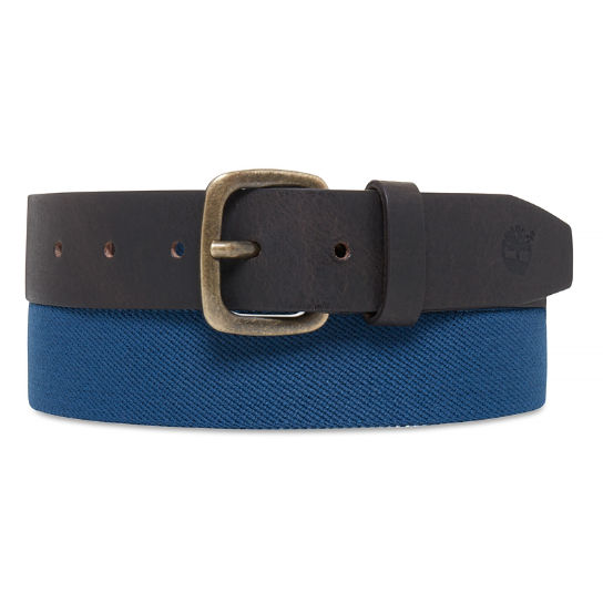 Elasticated Belt Homme Bleu | Timberland