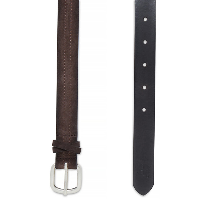 Women's Casual Line Belt Brown-