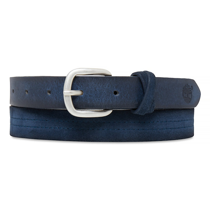 Women's Casual Line Belt Navy-