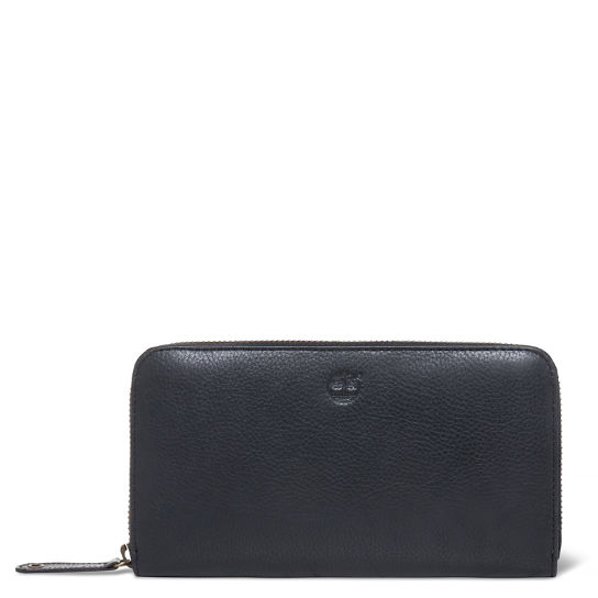 Women's Bloomfield Zipped Wallet Black | Timberland