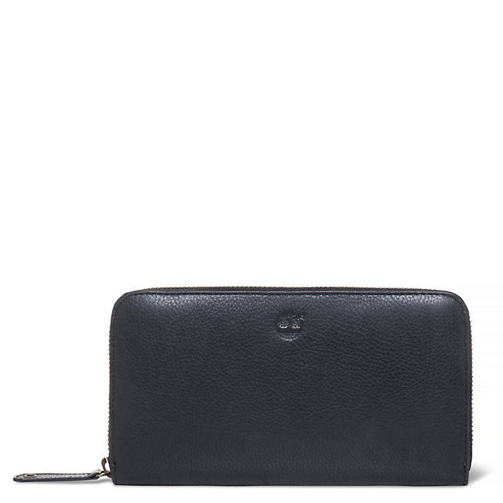 Damen Bloomfield Zipped Brieftasche Schwarz