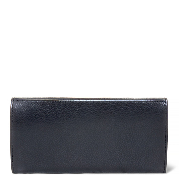 Bloomfield Trifold Wallet Donna Nero-