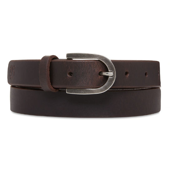 Leather Belt for Women in Black | Timberland