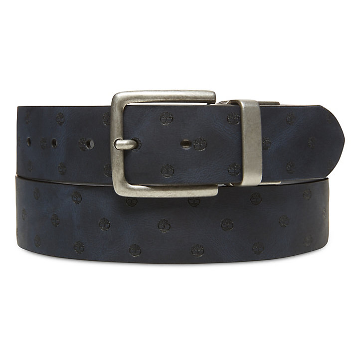 bastante agradable 2d01d 1d8cf Cinturón de Cuero con Textura para Hombre en Gris | Timberland