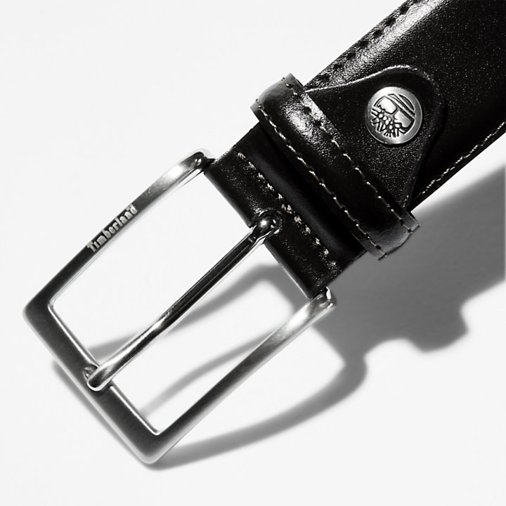 Classic Belt  for Men in Black-
