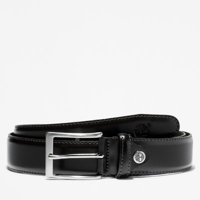 Classic+Squared+Buckle+Belt++for+Men+in+Black