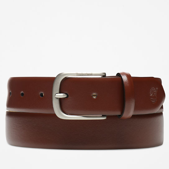 Leather Belt for Men in Brown | Timberland