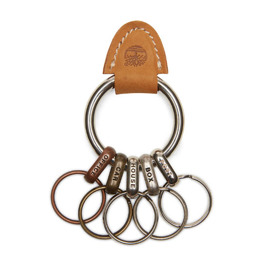 New Rain Multiple Keyring  for Men in Yellow | Timberland