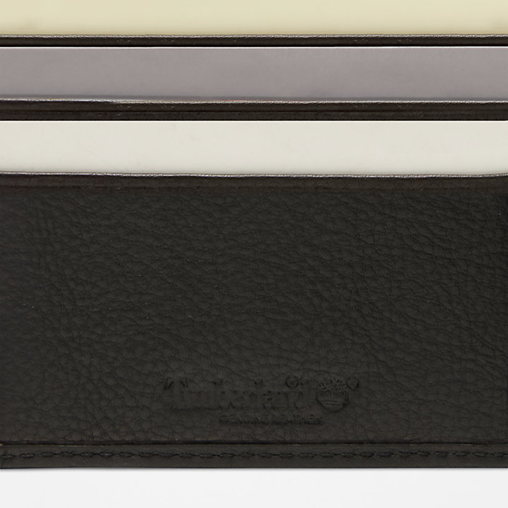 Kennebunk Large Wallet for Men in Black-