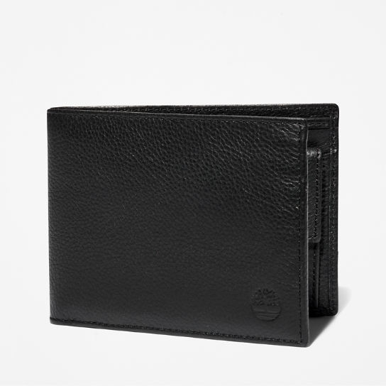 Kennebunk Large Wallet for Men in Black | Timberland