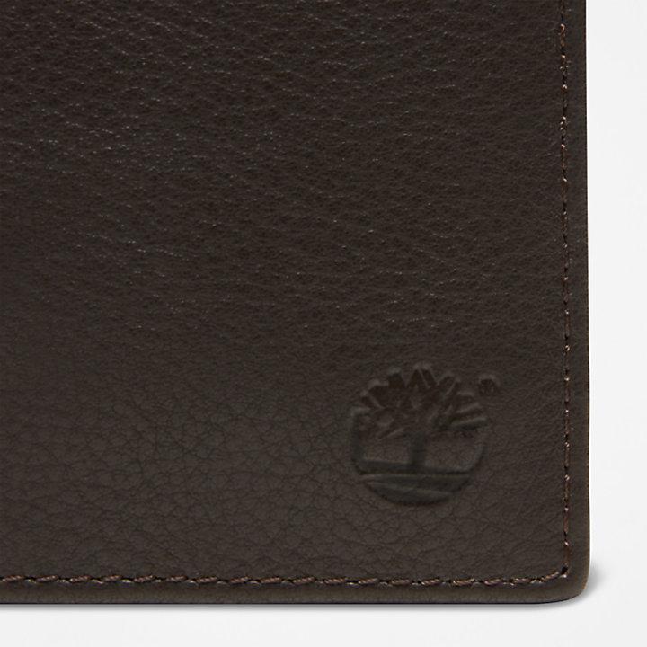 Große Kennebunk Brieftasche für Herren in Dunkelbraun-