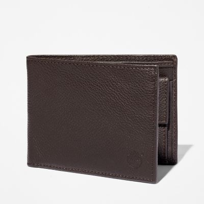 Kennebunk+Large+Wallet+for+Men+in+Dark+Brown