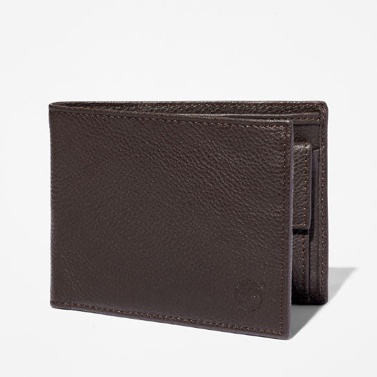 Kennebunk Large Wallet for Men in Dark Brown | Timberland