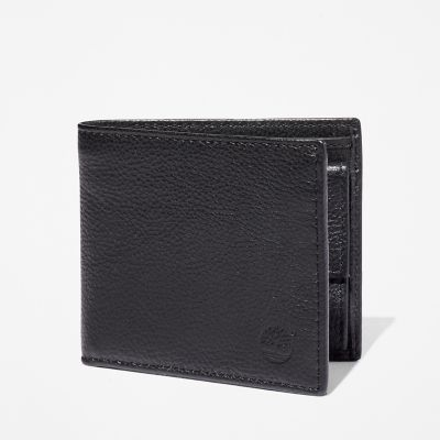 Kennebunk+Bifold+Wallet+for+Men+in+Black