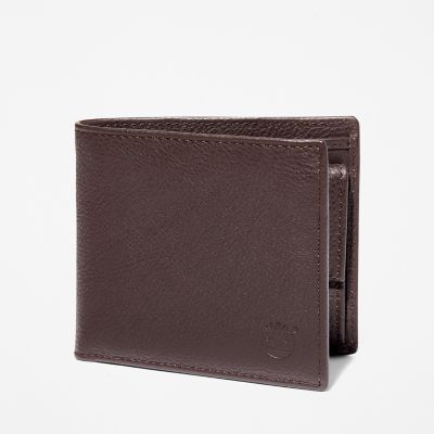 Kennebunk+Bifold+Wallet+for+Men+in+Dark+Brown