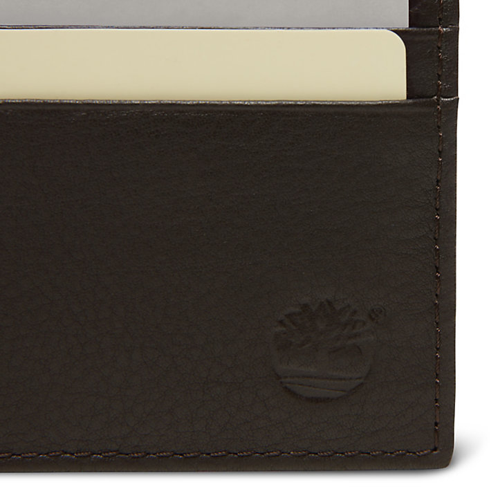 Porte-cartes Kennebunk pour homme en marron-