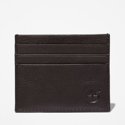 Kennebunk+Credit+Card+Holder+for+Men+in+Brown
