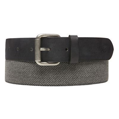 Canvas+Stretch+Belt+for+Men+in+Grey