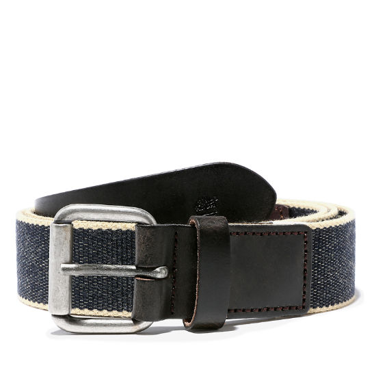 Canvas Belt for Men in Navy | Timberland