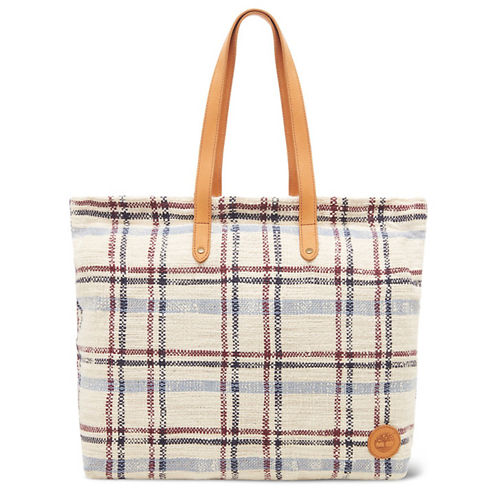 North Twin Shopping Bag in Bleekblauw-