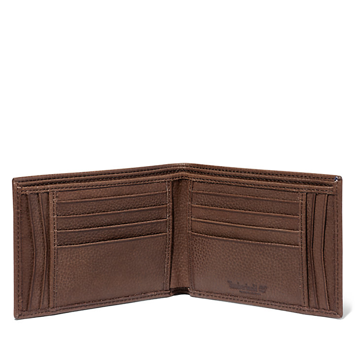 Pirates Cove Large Wallet for Men in Brown-