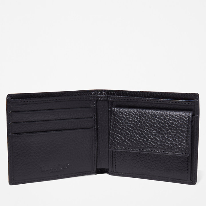 Edgartown Bifold Wallet for Men in Black-