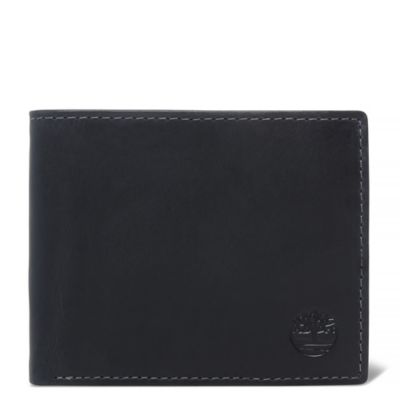 Grafton+Notch+Small+Leather+Wallet+for+Men+in+Black