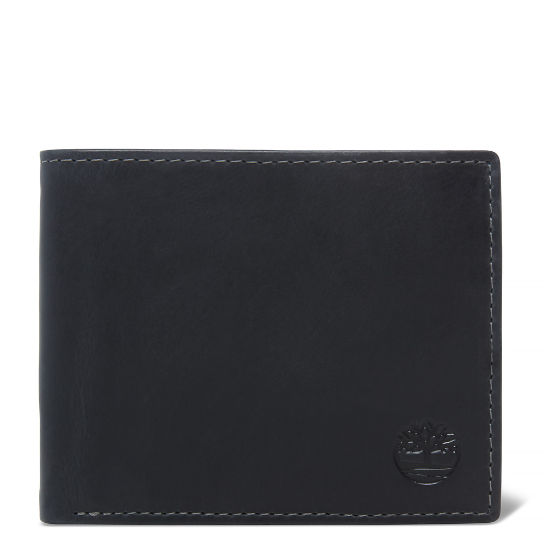 Grafton Notch Leather Wallet Homme Noir | Timberland