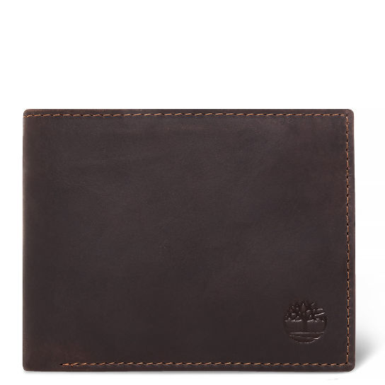 Grafton Notch Leather Wallet for Men in Brown | Timberland